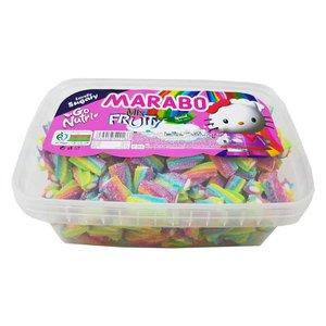 پاستیل لقمه ای شکری میوه ای مارابو - 800 گرم