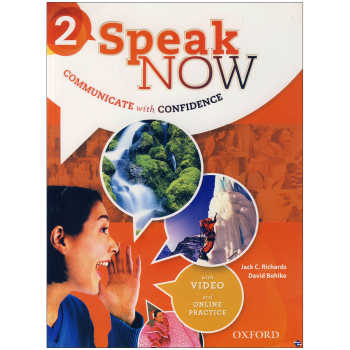 کتاب Speak Now 2 اثر  Jack C. Richards and David Bohlke انتشارات زبان مهر