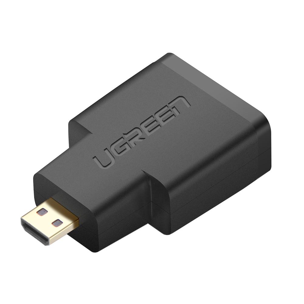 بررسی و خرید [با تخفیف]                                     مبدل microHDMI به HDMI یوگرین مدل 20106                             اورجینال