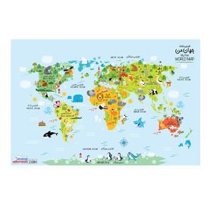 نقشه جهان من گیتاشناسی کد ۱۶۱۳