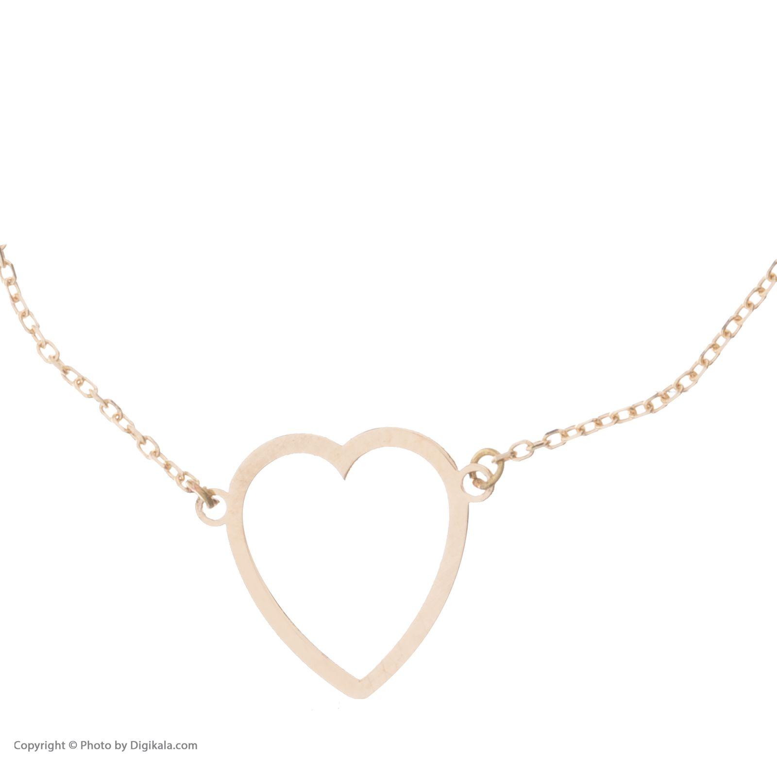 دستبند طلا 18 عیار زنانه نیوانی مدل DA629  -  - 2