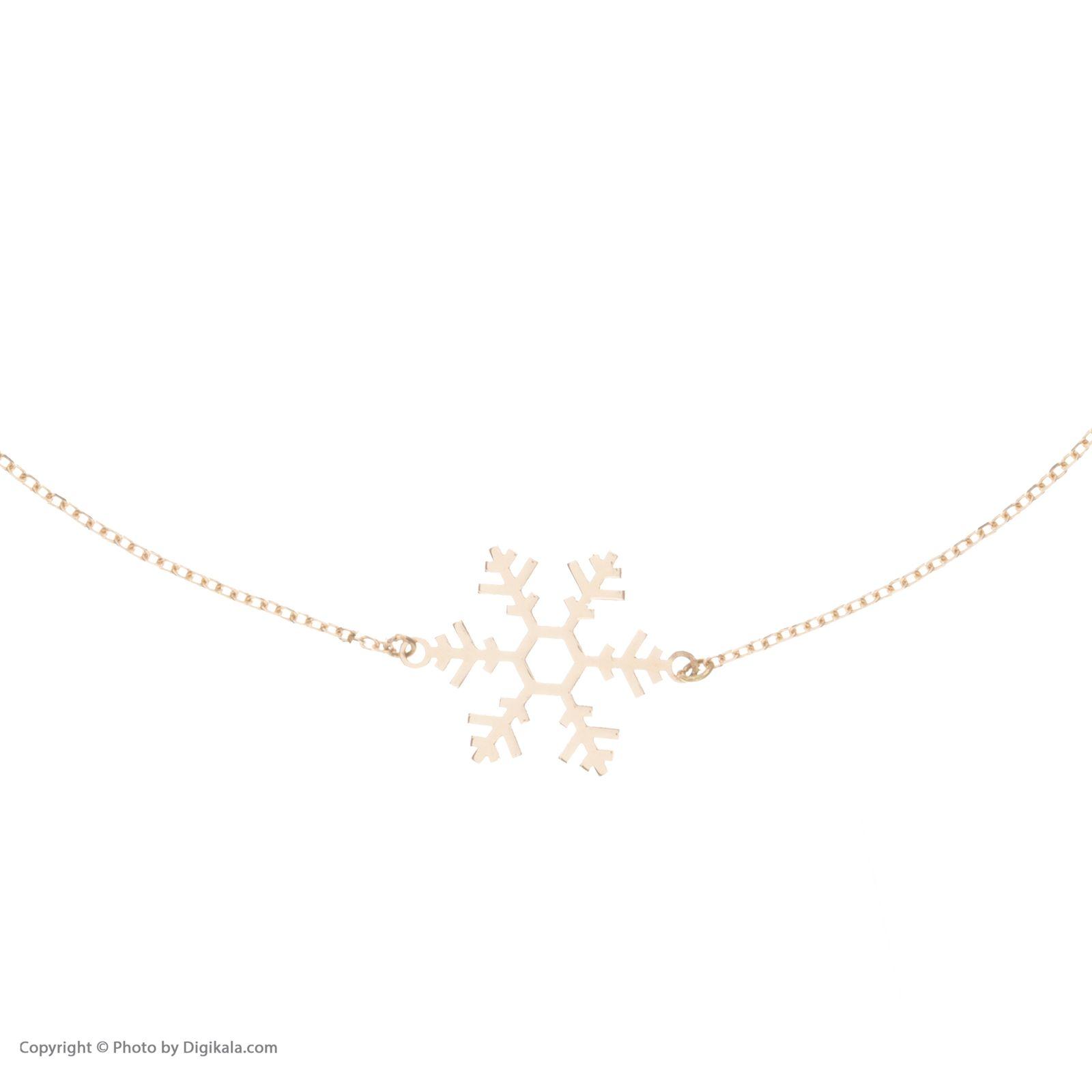 پابند طلا 18 عیار زنانه نیوانی مدل PA004 -  - 1