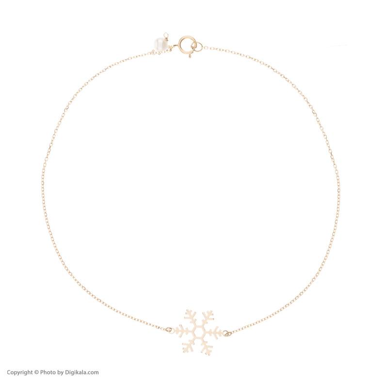 پابند طلا 18 عیار زنانه نیوانی مدل PA004