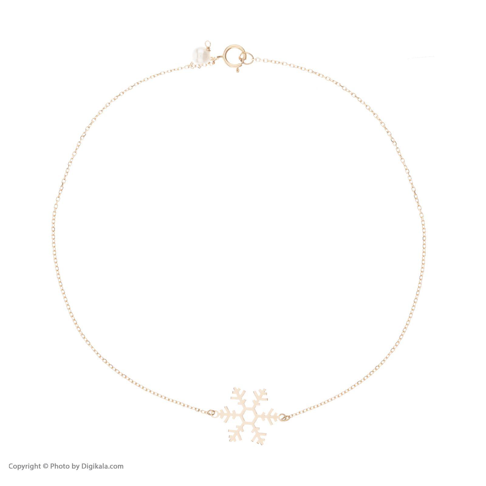 پابند طلا 18 عیار زنانه نیوانی مدل PA004 -  - 2