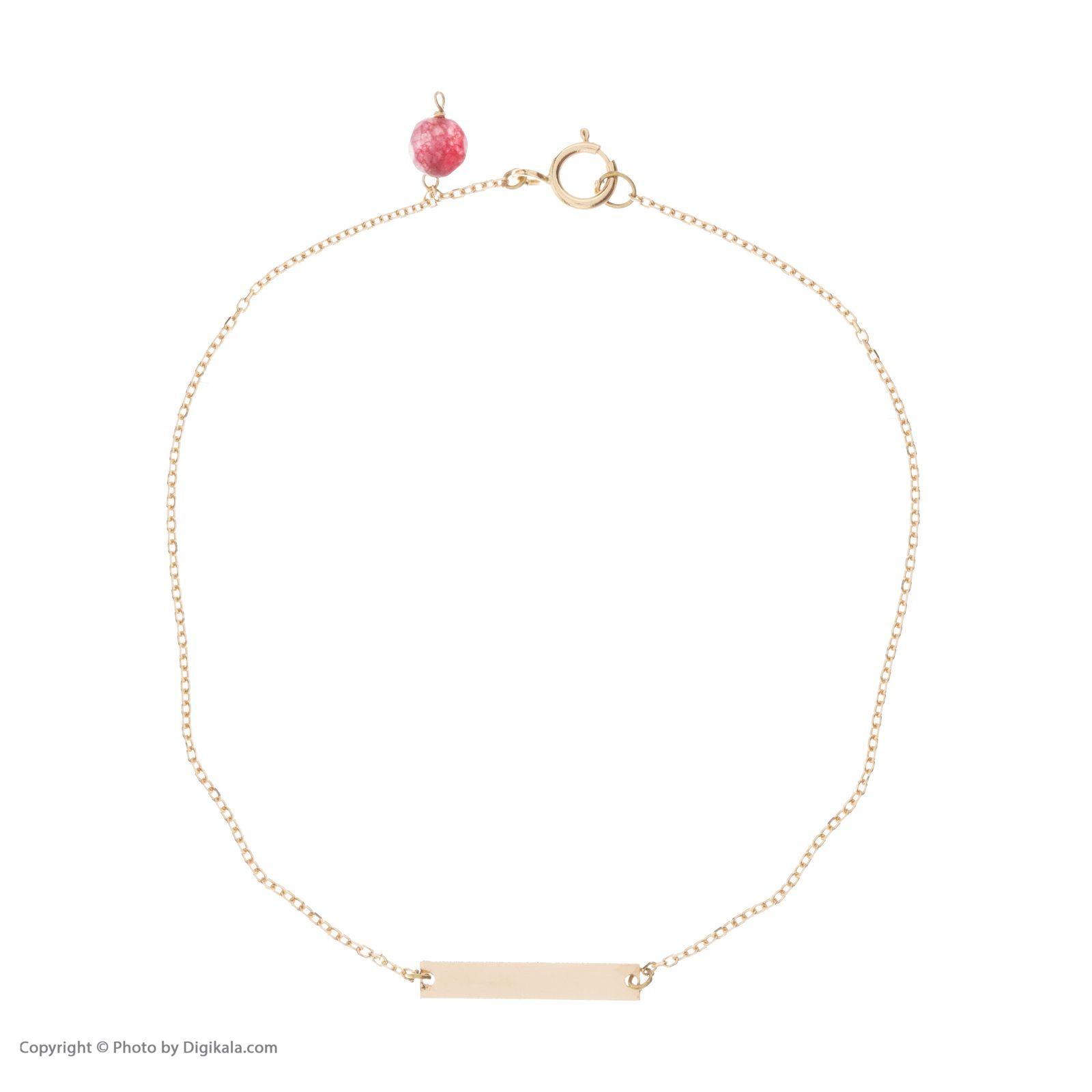 دستبند طلا 18 عیار زنانه نیوانی مدل DA633 -  - 1