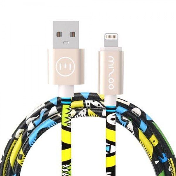 کابل تبدیل USB به لایتنینگ میزو مدل X28 طول 1 متر