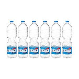 آب معدنی کرست - 1.5 لیتر بسته 6 عددی