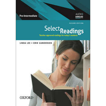 کتاب Select Readings Pre-Intermediate اثر Linda lee and Erik Gundersen انتشارات Oxford