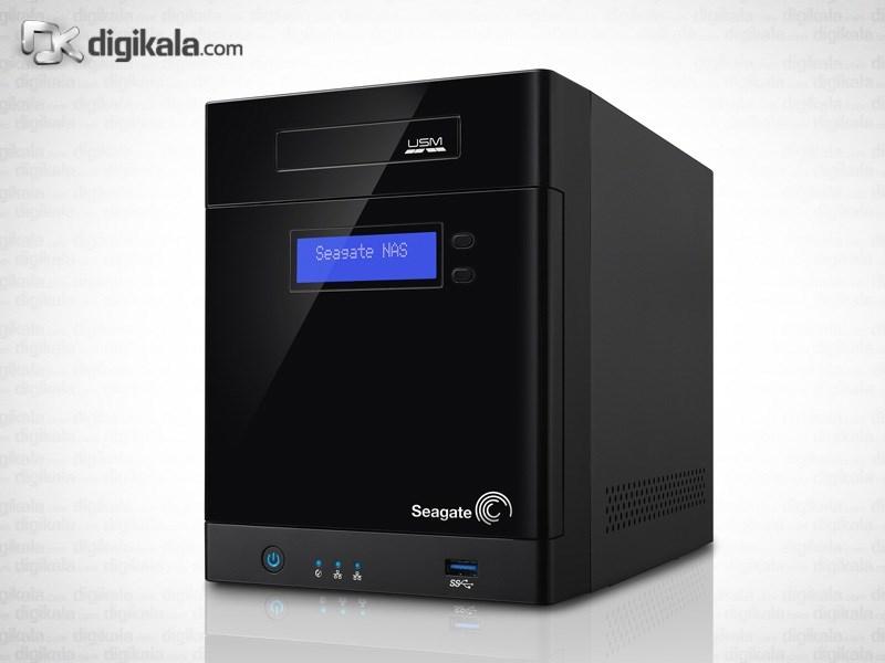 ذخیره ساز تحت شبکه 4Bay سیگیت مدل بیزینس استوریج ظرفیت 16 ترابایت