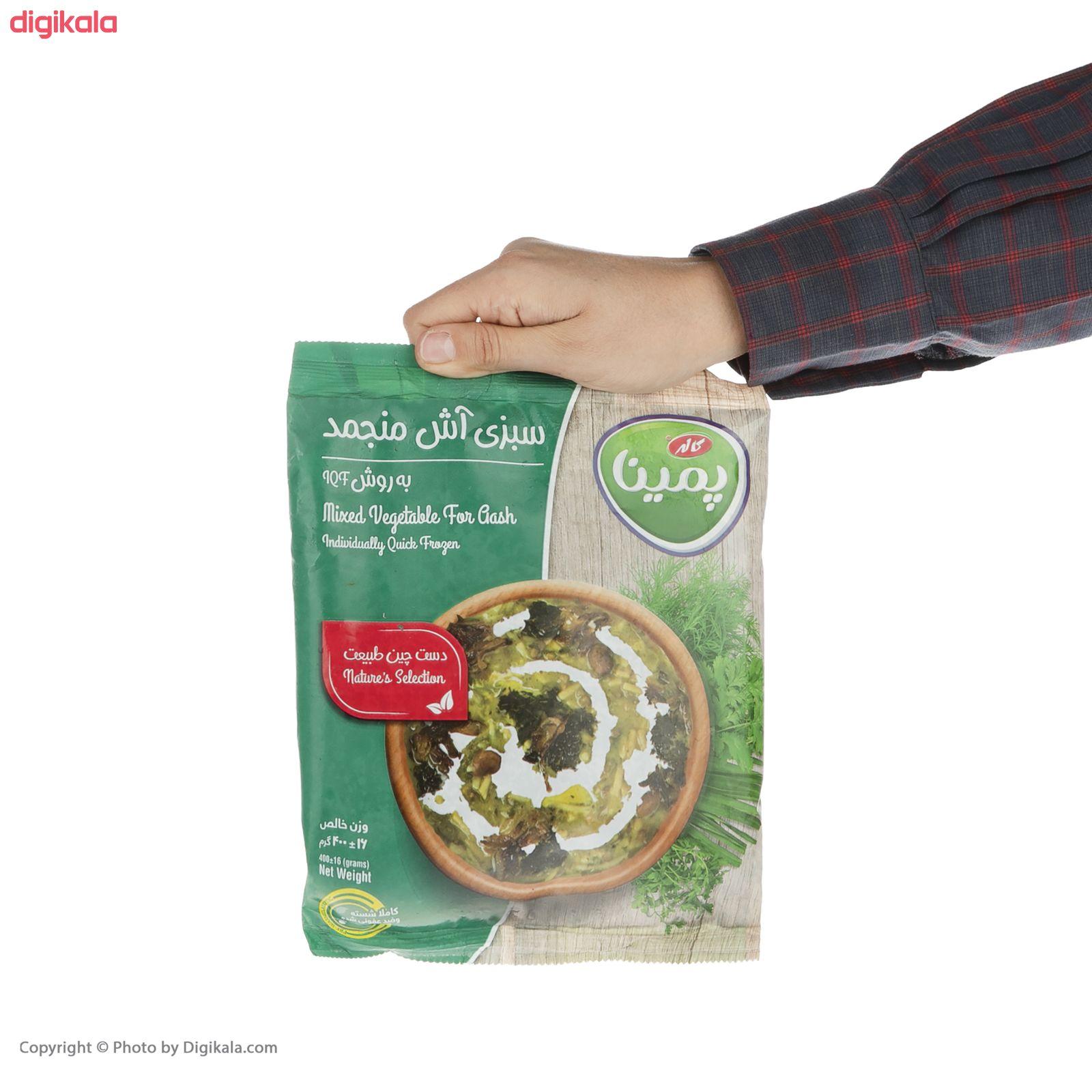 سبزی آش منجمد پمینا مقدار 400 گرم main 1 3