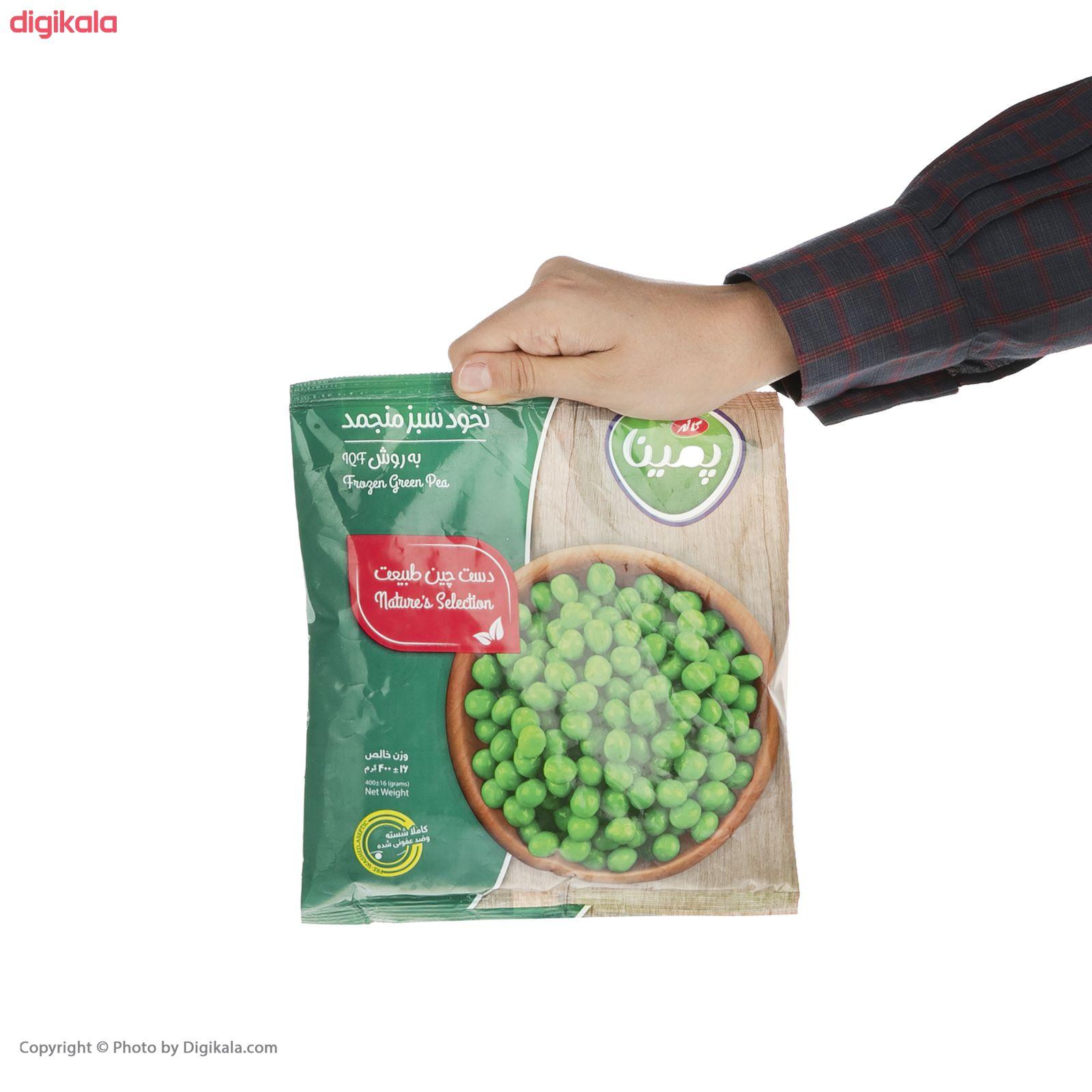 نخود سبز منجمد پمینا مقدار 400 گرم main 1 5