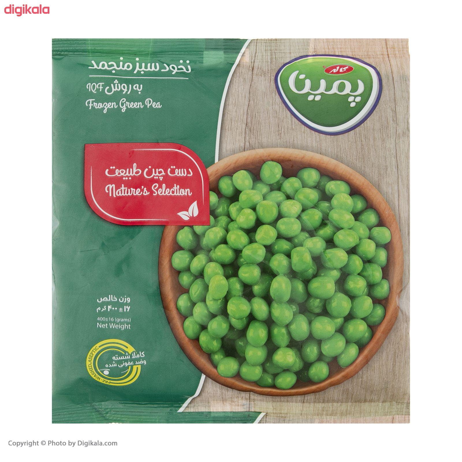 نخود سبز منجمد پمینا مقدار 400 گرم main 1 6