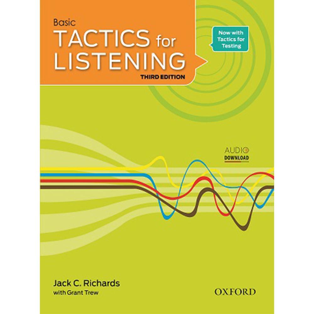خرید                      کتاب Tactics for Listening Basic اثر Jack C. Richard and Grant Trew انتشارات Oxford