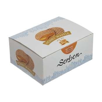 وافل سوربن با طعم عسل - بسته 20 عددی