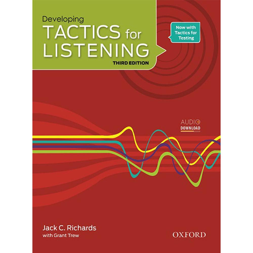 خرید                      کتاب Developing Tactics for Listening اثر Jack C. Richard with Grant Trew انتشارات Oxford