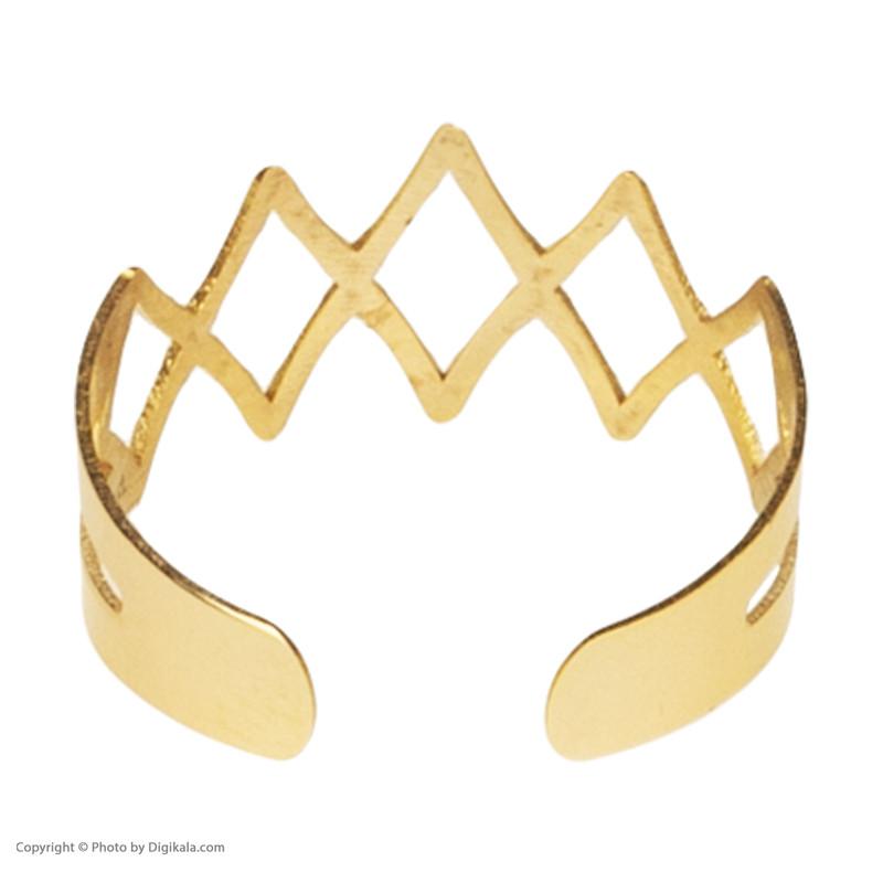 انگشتر طلا 18 عیار زنانه نیوانی مدل NR008