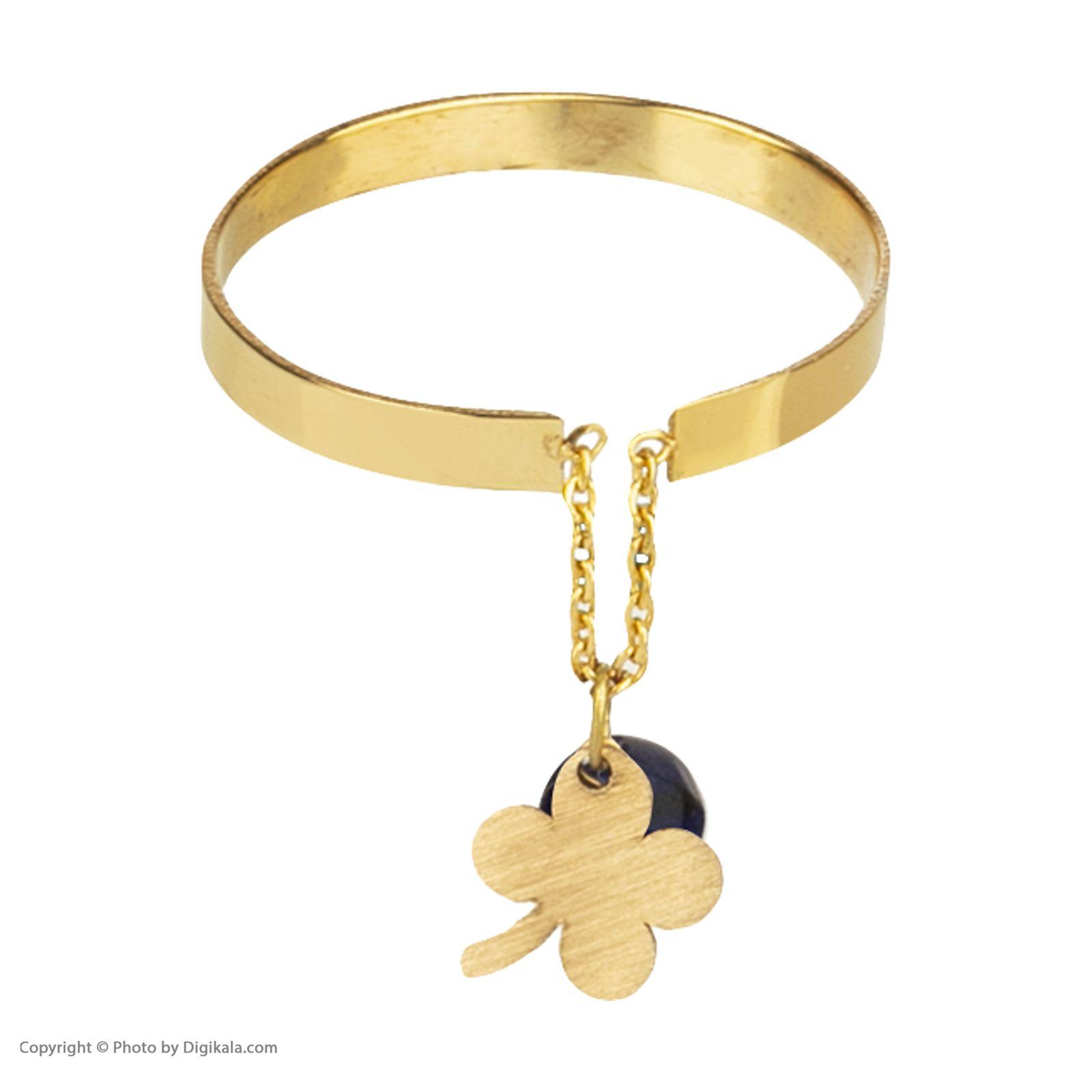 انگشتر طلا 18 عیار زنانه نیوانی مدل NR014 -  - 1