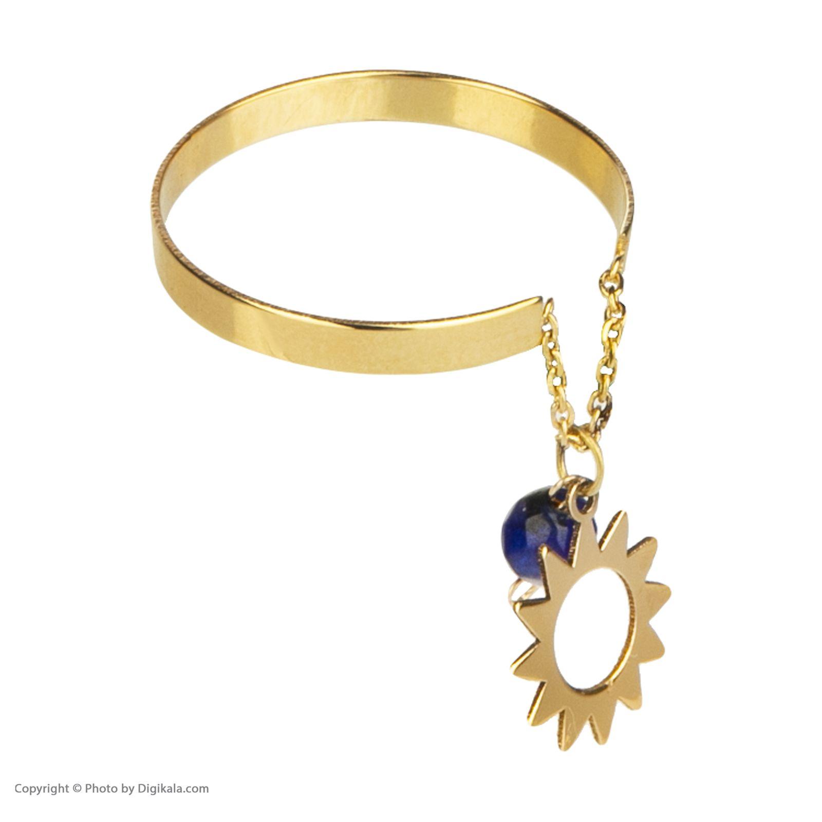 انگشتر طلا 18 عیار زنانه نیوانی مدل NR013  -  - 2