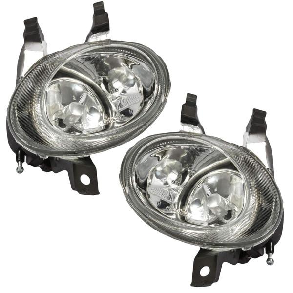 چراغ مه شکن جلو خودرو فن آوران پرتو الوند مدل  AM 5964RL مناسب برای پژو 206 بسته 2 عددی