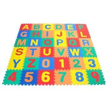تشک بازی طرح حروف و اعداد انگلیسی بسته 36 عددی