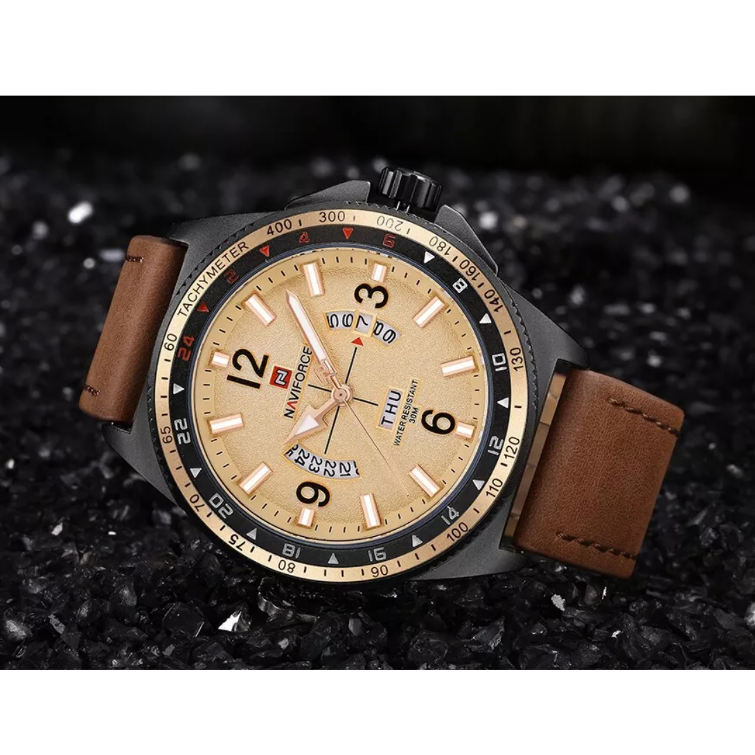 ساعت مچی عقربه ای مردانه نیوی فورس مدل  NF9103 RGBN              خرید (⭐️⭐️⭐️)