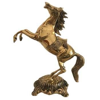 مجسمه  برنجی طرح اسب مدل 4500