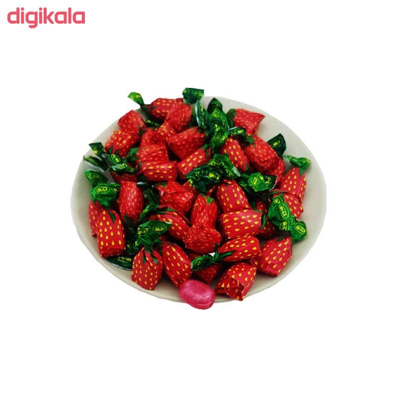 آبنبات توت فرنگی با مغزی پاستیل آیدین - 500 گرم main 1 1