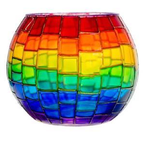 جاشمعی شیشه ای کد 07