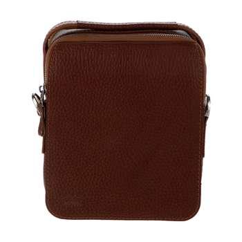 کیف دوشی مردانه رویال چرم کد W71