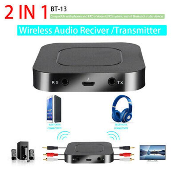 خرید اینترنتی گیرنده و فرستنده بلوتوث صدا مدل 2-1 bt-13 اورجینال