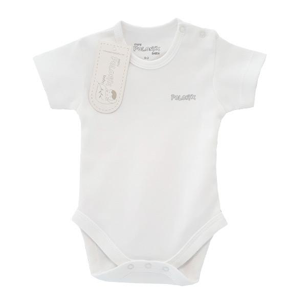 بادی آستین کوتاه نوزادی پولونیکس کد 11813-02