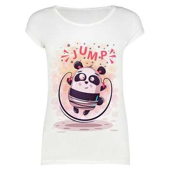تیشرت زنانه مدل jump panda کد 1000015