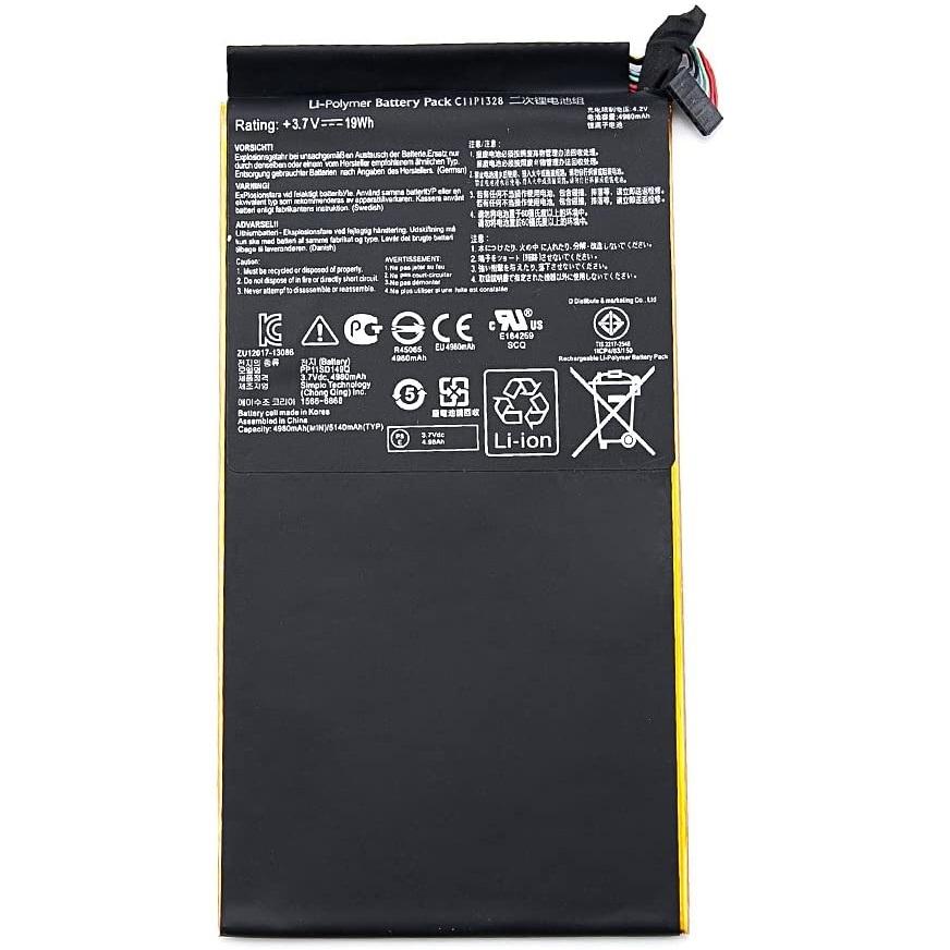باتری تبلت مدل c11p1328 ظرفیت 4980 میلی آمپر ساعت مناسب برای تبلت ایسوس TF103C