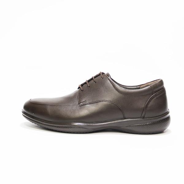 کفش روزمره مردانه فرزین کد TBB 023 رنگ قهوه ای