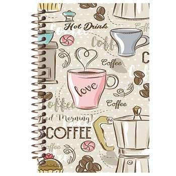 دفتر لغت مشایخ طرح فنجان قهوه کد 9016