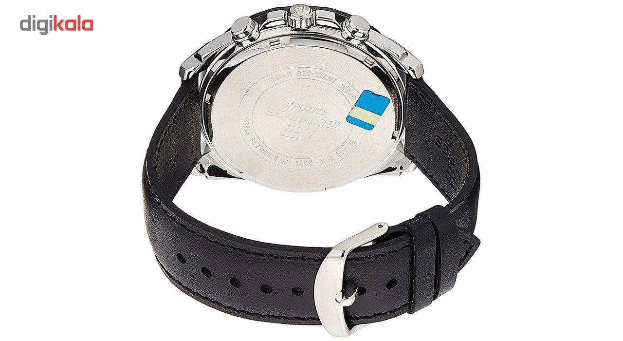 ساعت مچی عقربه ای مردانه کاسیو مدل EFR-550L-1AVUDF -  - 3