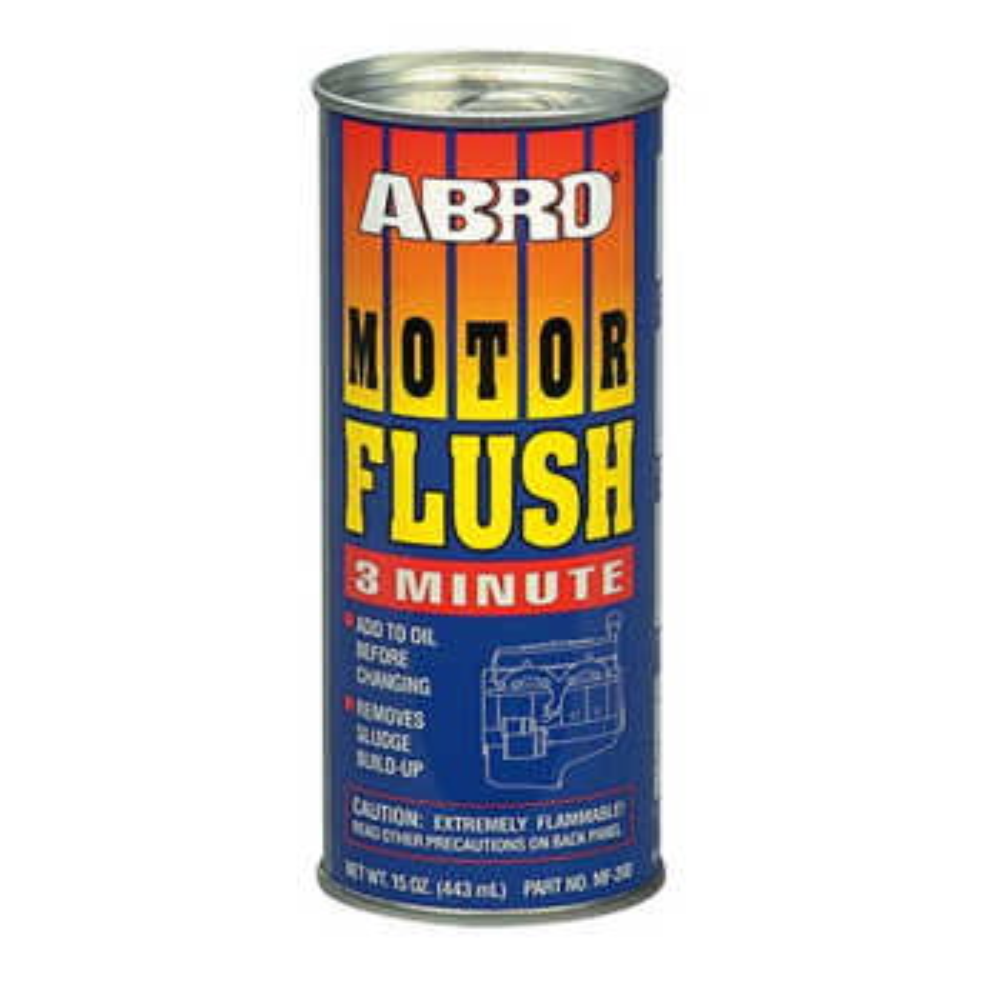 مکمل روغن موتور خودرو آبرو مدل Motor Flush MF-390 حجم 443 میلی لیتر