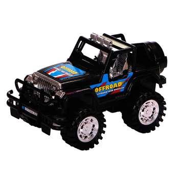 ماشین بازی درج مدل Jeep طرح BLACK OFFROAD