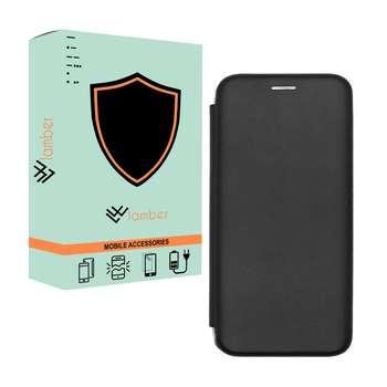 کیف کلاسوری لمبر مدل LAMKELAS-1 مناسب برای گوشی موبایل سامسونگ Galaxy A6 Plus