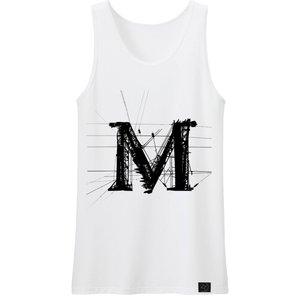 تاپ مردانه 27 طرح حرف M کد b16