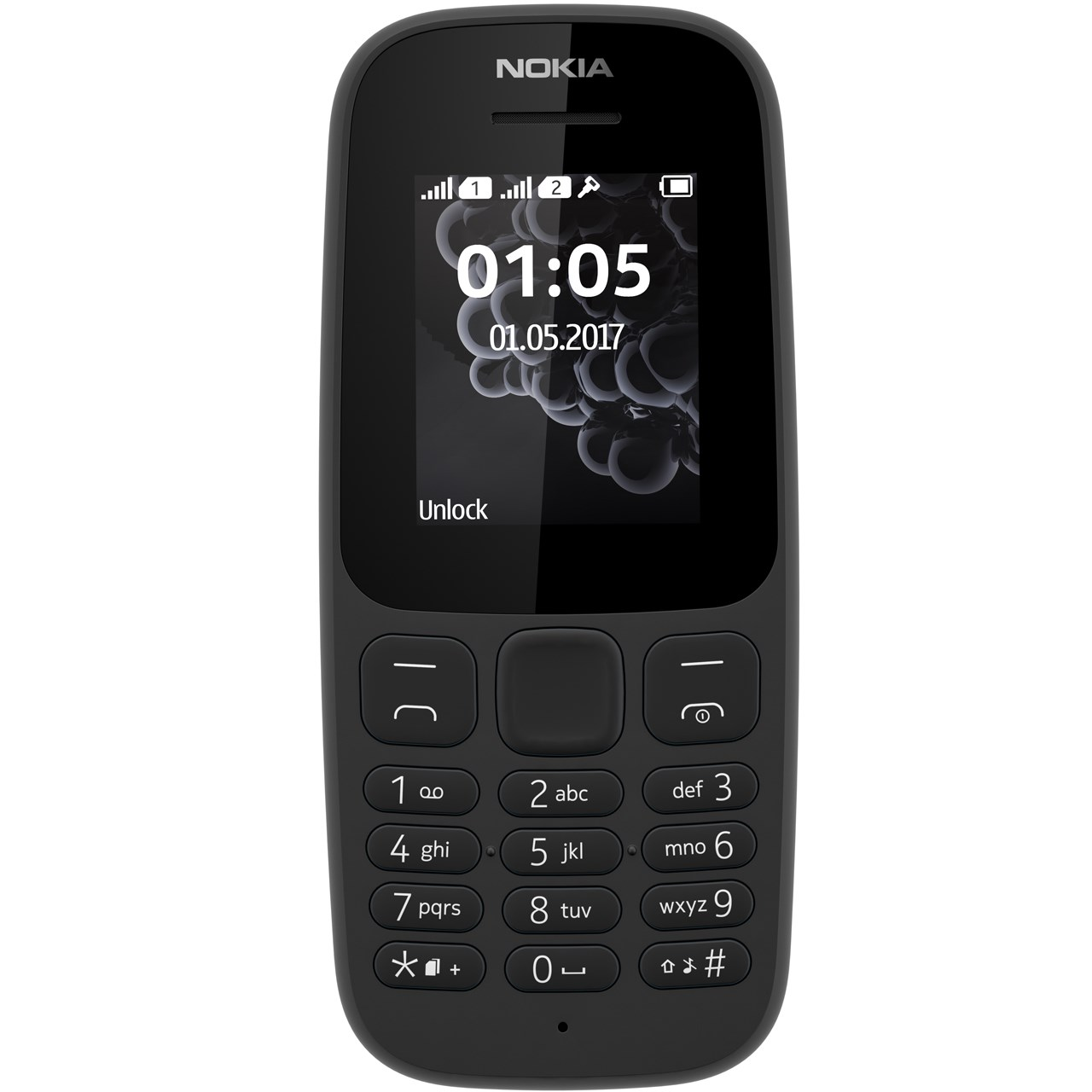 گوشی موبایل نوکیا مدل 105 -TA1034 دو سیم کارت