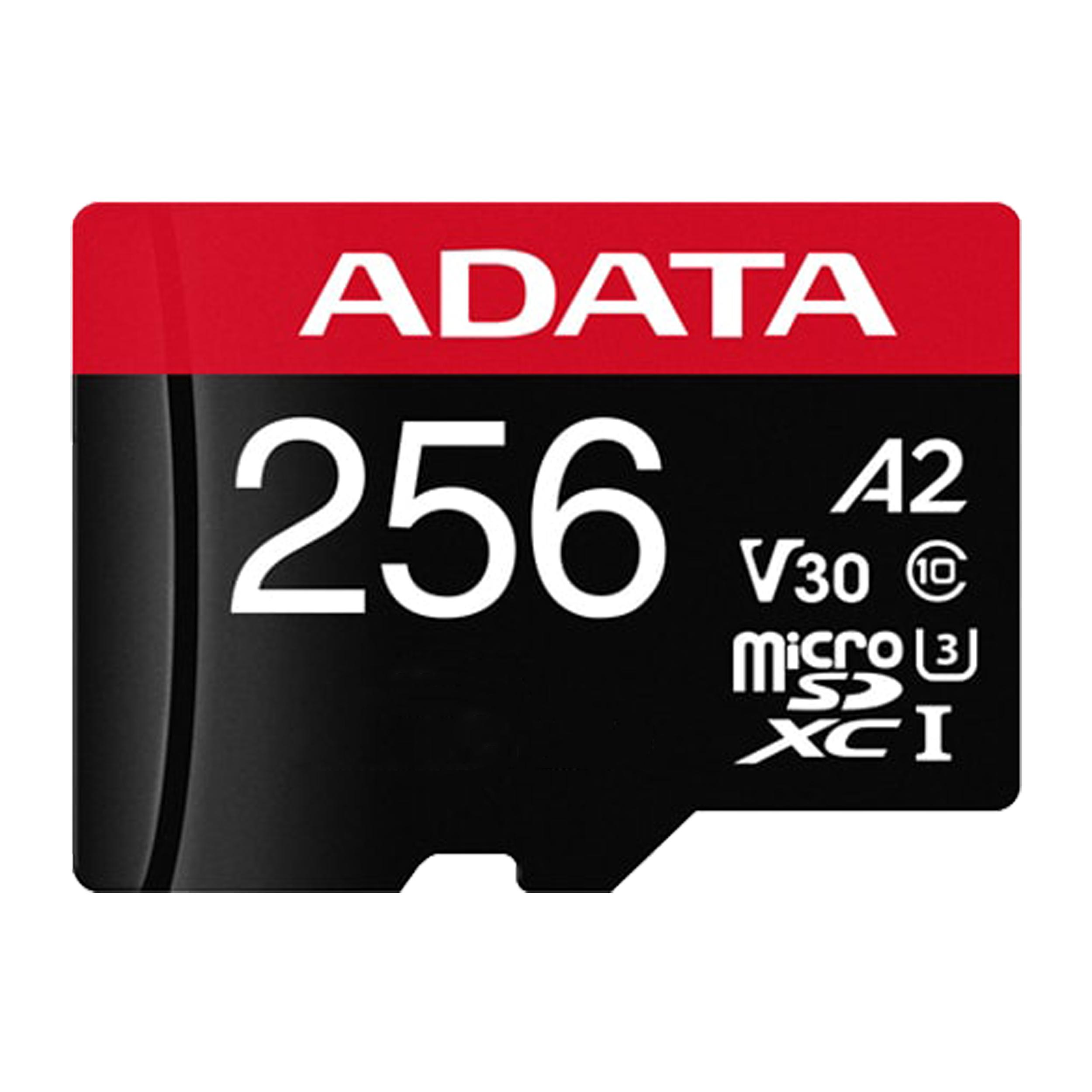 کارت حافظه microSDXC ای دیتا ایکس پی جی مدل INSTANT GAME-IFICATION کلاس 10 استاندارد UHS-I U3 سرعت 100MBps ظرفیت 256 گیگابایت