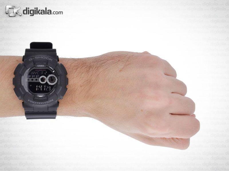 ساعت مچی دیجیتالی مردانه کاسیو جی شاک GD-100-1BDR -  - 2