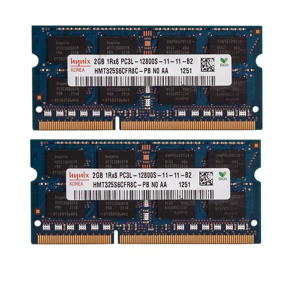 رم لپ تاپ DDR3 تک کاناله 1600مگاهرتز CL11 هاینیکس مدل 12800S ظرفیت 4 گیگابایت