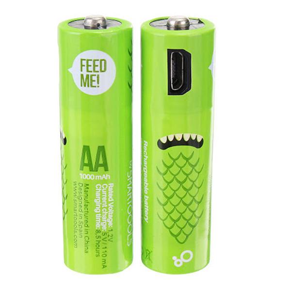 باتری قلمی قابل شارژ  مدل KT2 بسته 2 عددی