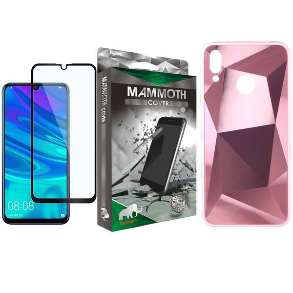 کاور ماموت طرح الماس مدل ALMS مناسب برای گوشی موبایل هوآوی P Smart 2019 به همراه محافظ صفحه نمایش