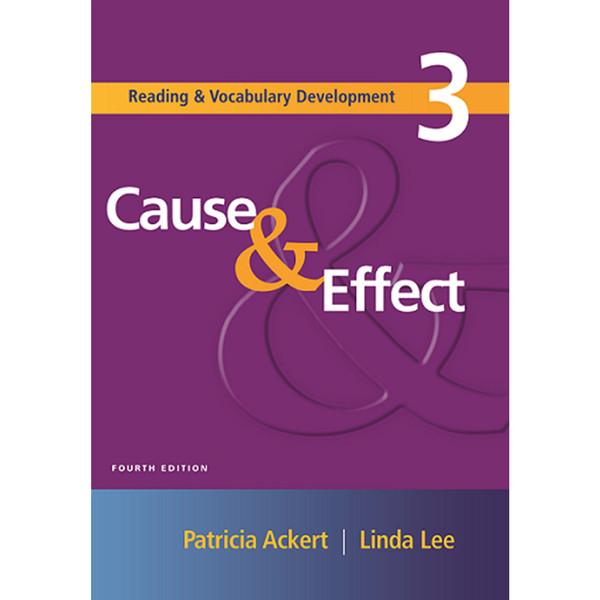 کتاب Cause & Effect 3 اثر Patricia Ackert and Linda Lee انتشارات Cengage Learning