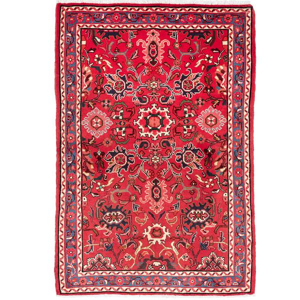 فرش دستباف قدیمی یک و نیم متری حیدریان کد 63626