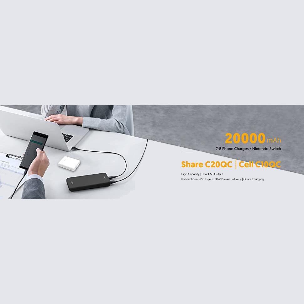 شارژر همراه سیلیکون پاور مدل C20QC ظرفیت 20000 میلیآمپرساعت main 1 22