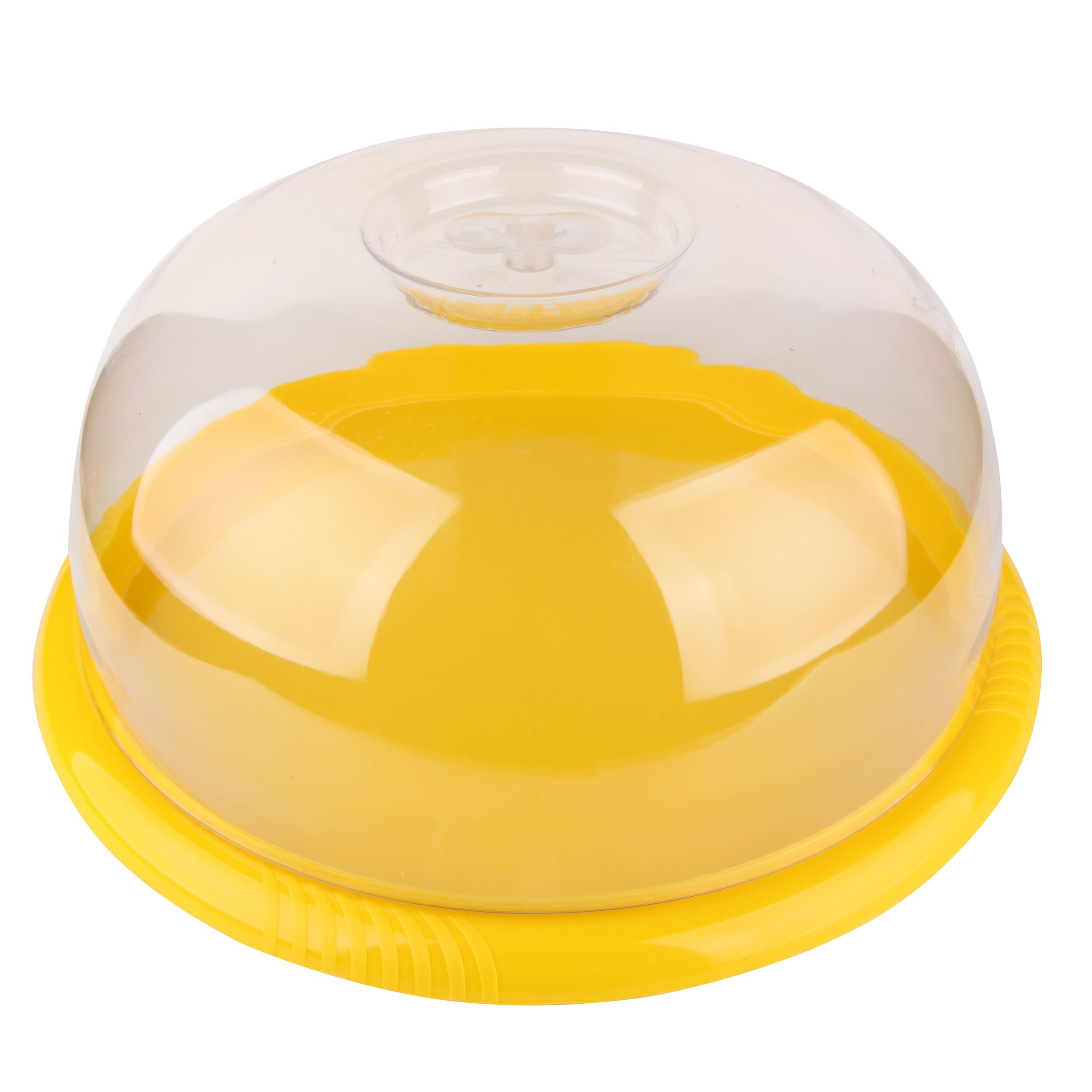 ظرف سرو کیک یکبار مصرف مدل ST113